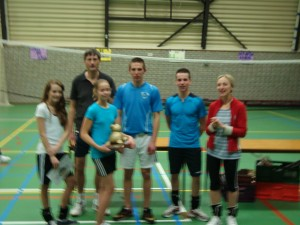 Winnaar stratenvolleybal 2012