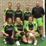 Tussenstand volleybalcompetitie